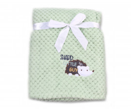 Бебешки полиестерни одеяла Cangaroo Freya, зелено