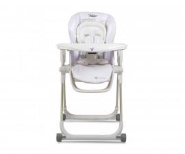 Детско столче за хранене с подложка Cangaroo Delicious 2020, бяло