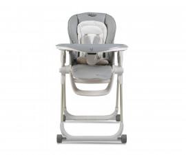 Детско столче за хранене с подложка Cangaroo Delicious 2020, сиво