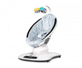 Електрическа бебешка люлка Мамару Плюш в сиво