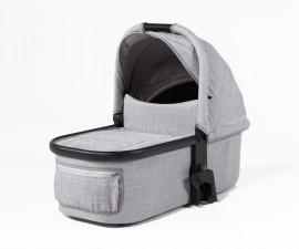 Кош за новородено за детска количка Mast M4 Granite, сиво-черен MA-CA03