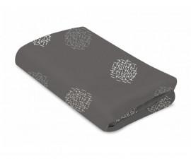 Чаршафи за бебешко кошче-люлка Мамару 4.0 Sleep, сиви щрихи, 0м+ 2000932