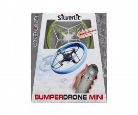 Детска летяща играчка с РУ - Силвърлит - Мини дрон с олекотяване на удара