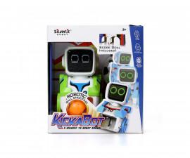 Детска играчка - робот с ДУ - Силвърлит - Кик-а-бот мини роботче