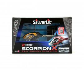 Детска летяща играчка с РУ - Силвърлит - Хеликоптер Скорпион