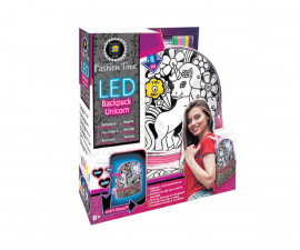 Детска Раница за оцветяване с LED светлина