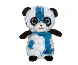 Плюшена играчка за деца - Панда с пайети, 14см 2070-3