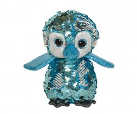 Плюшена играчка за деца - Пингвин с пайети, 14см 2070-5