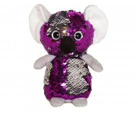 Плюшена играчка за деца - Коала с пайети, 14см 2070-13