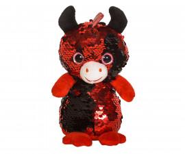 Плюшена играчка за деца - Дракон с пайети, 14см 2070-16