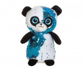 Плюшена играчка за деца - Панда с пайети, 26см 2071-3