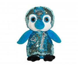 Плюшена играчка за деца - Пингвин с пайети, 26см 2071-5