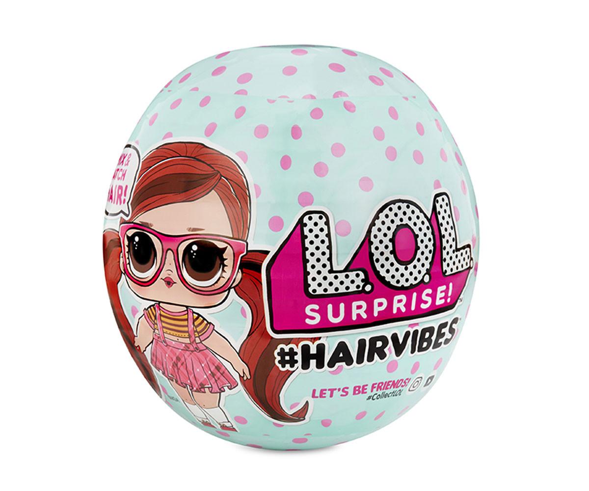 L.O.L Surprise малка кукла в сфера за смяна на прически