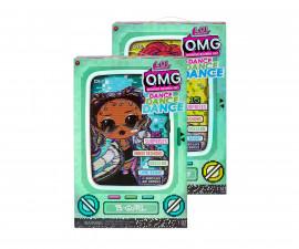 Кукла изненада L.O.L Dolls OMG Dance, асортимент 117841
