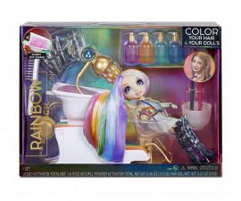 Кукла изненада L.O.L. - Rainbow High, фризьорски салон 567448