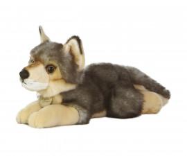 Плюшена играчка за деца Аврора - Вълк, 28см 111186A