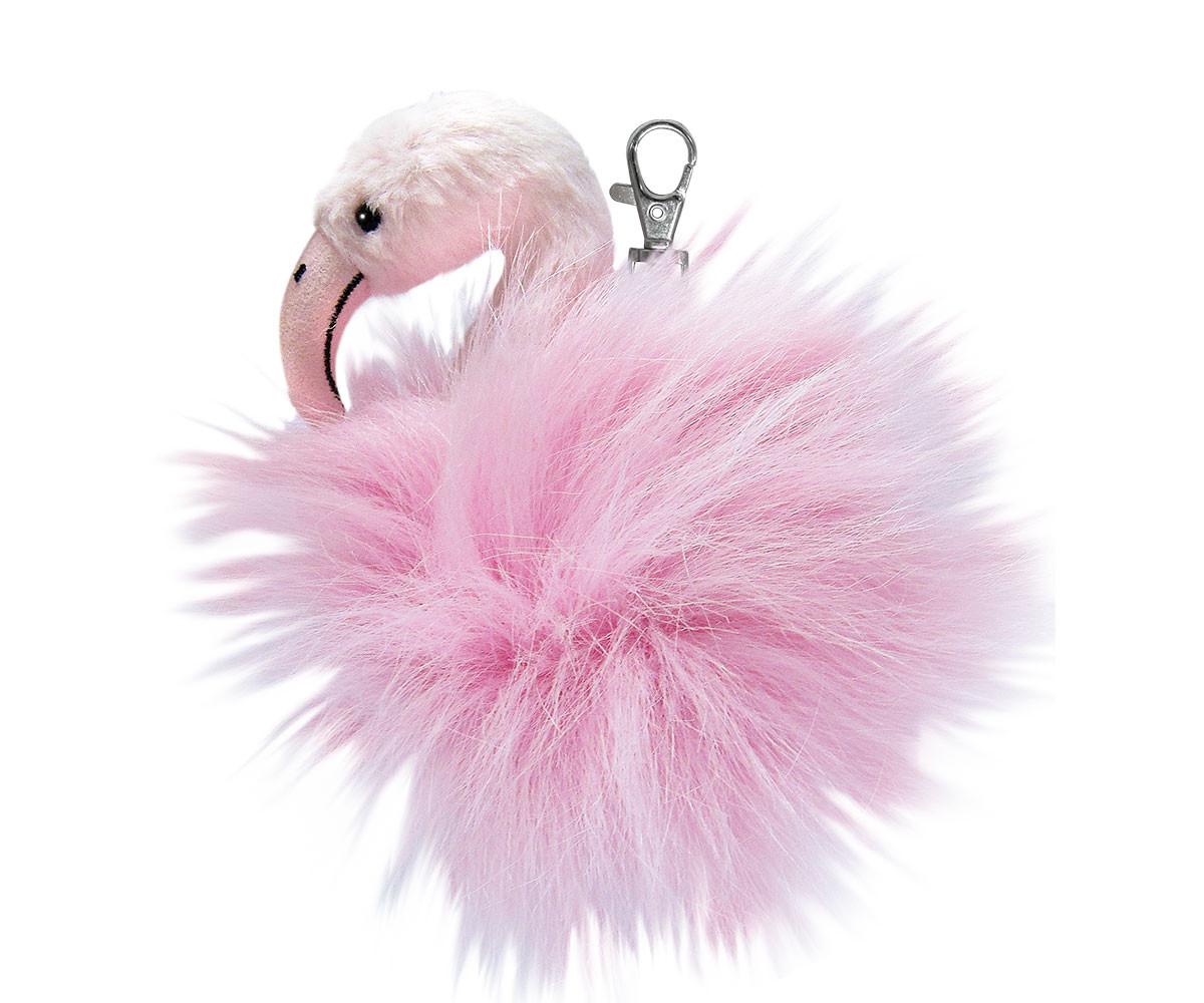 Плюшена играчка за деца Аврора - Фламинго ключодържател 170440F