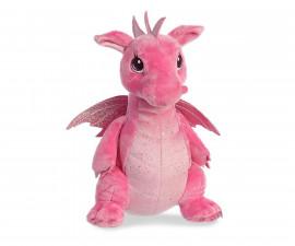Плюшена играчка за деца Аврора - Розов дракон 170415A