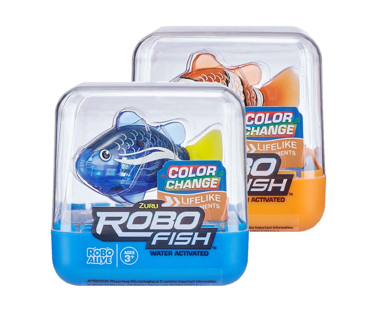 ZURU RoboFish рибка с променящ се цвят 2501