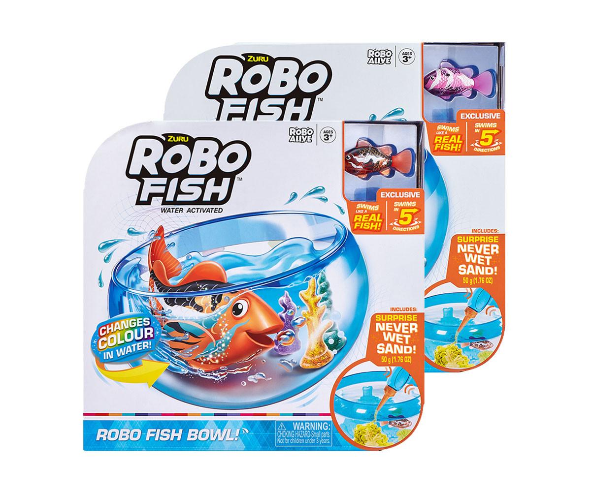 ZURU робофиш рибка с променящ се цвят в аквариум, 2502/7126
