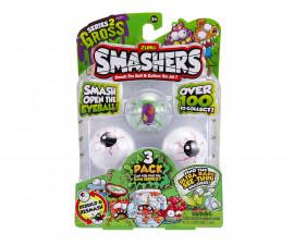 Забавна играчка Smashers - 3 бр. фигурки в сфера