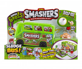 Забавна играчка Smashers - автобус за фигурки
