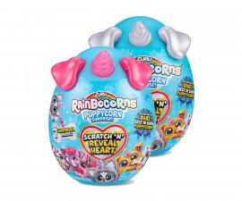 Забавна играчка Rainbocorns - Плюшено животинче с блестящо сърце на ZURU 9237