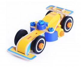 Детски кола за състезания от дърво