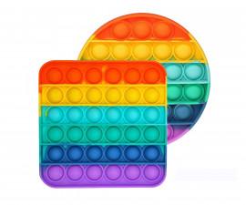 Антистрес Fidget Вафла Pop It, асортимент 201030/201030-498