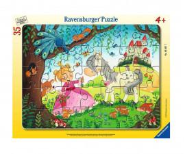Детски пъзел Ravensburger 35 ел. - Земята на малката принцеса