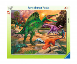 Ravensburger 05094 - Детски пъзел 42 ел. - Спинозавър