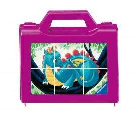 Ravensburger 05139 - детски пъзел - кубчета 6 ел. - Фантастични същества
