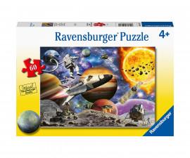 Ravensburger 05162 - Детски пъзел 60 ел. - Експедиция в космоса