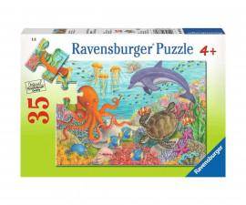 Ravensburger 08780 - Детски пъзел 35 ел. - Морски приятели