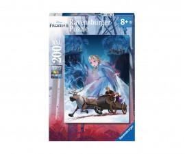 Детски пъзел Ravensburger 200 ел. XXL - Замръзналото кралство 2 - Загадъчната гора