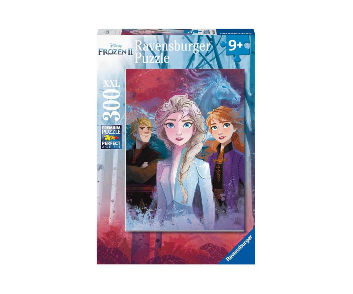 Детски пъзел Ravensburger 300 ел. XXL - Замръзналото кралство 2 - Елза, Анна и Кристоф