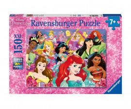 Детски пъзел Ravensburger 150 ел. XXL - Дисни принцеси - Мечтите се сбъдват