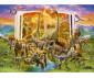 Детски пъзел Ravensburger 300 ел. XXL - Книгата на динозаврите thumb 2
