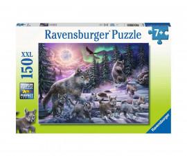 Пъзел за деца Ravensburger 150 ел. XXL - Вълци от севера
