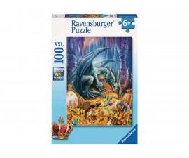Ravensburger 12940 - Детски пъзел 100 ел. XXL - Съкровището на дракона