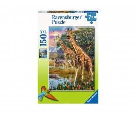 Ravensburger 12943 - Детски пъзел 150 ел. XXL - Жирафи в Африка