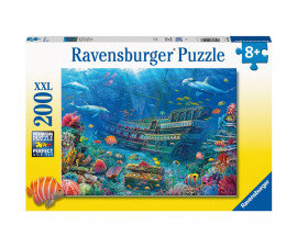 Ravensburger 12944 - Детски пъзел 200 ел. ХХL - Потънал кораб
