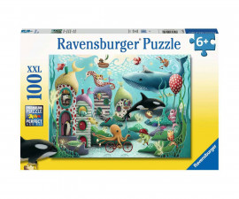 Ravensburger 12972 - Детски пъзел 100 ел. XXL - Подводни чудеса