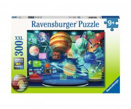 Ravensburger 12981 - Детски пъзел 300 ел. ХХL - Холограми на планети