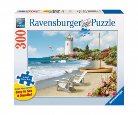 Ravensburger 13535 - Детски пъзел 300 ел. - Слънчев морски бряг