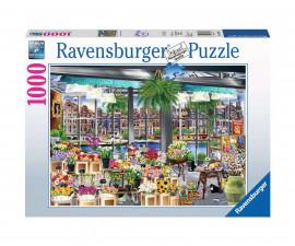 Ravensburger 13987 - пъзел 1000 ел. - Пазар на цветя в Амстердам