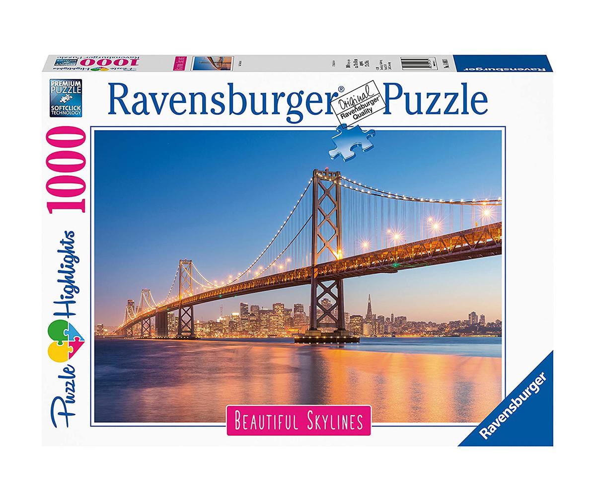 Пъзел за възрастни Ravensburger 1000 ел. - Сан Франциско