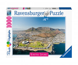 Пъзел за възрастни Ravensburger 1000 ел. - Кейптаун