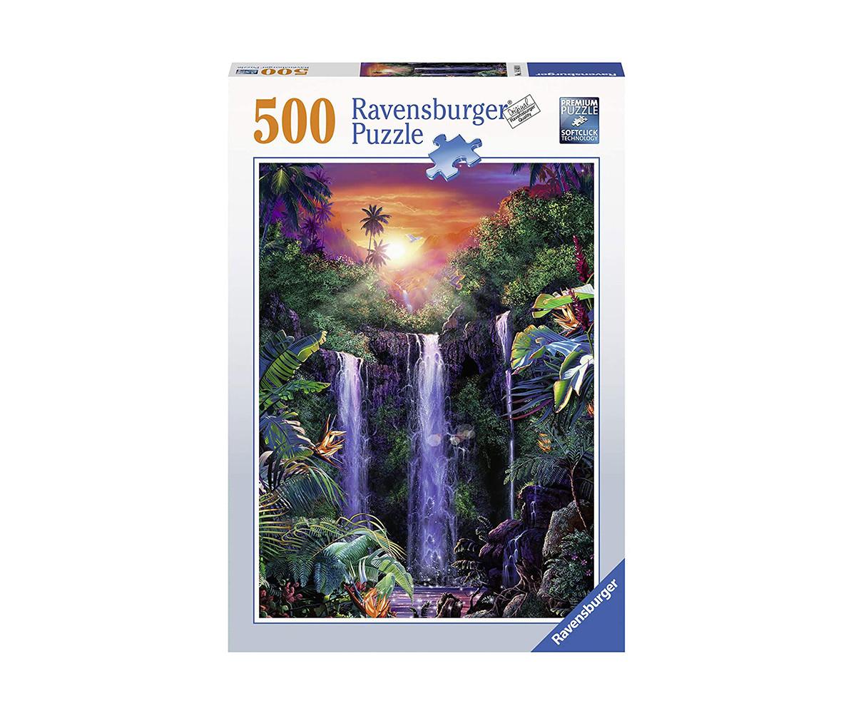 Пъзел за възрастни Ravensburger 500 ел. - Магичен водопад