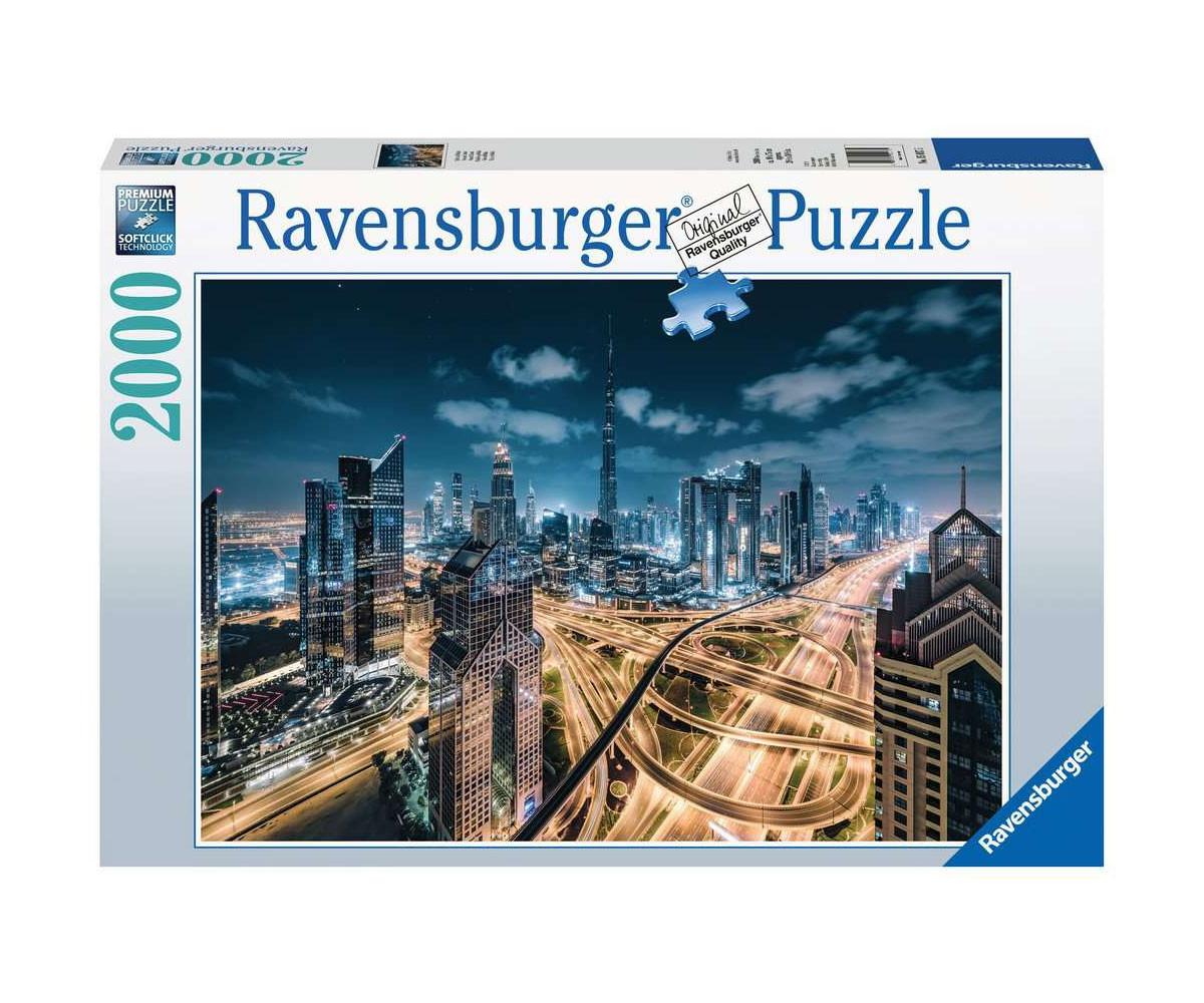 Пъзел за деца и възрастни Ravensburger 2000 части - Гледка от Дубай